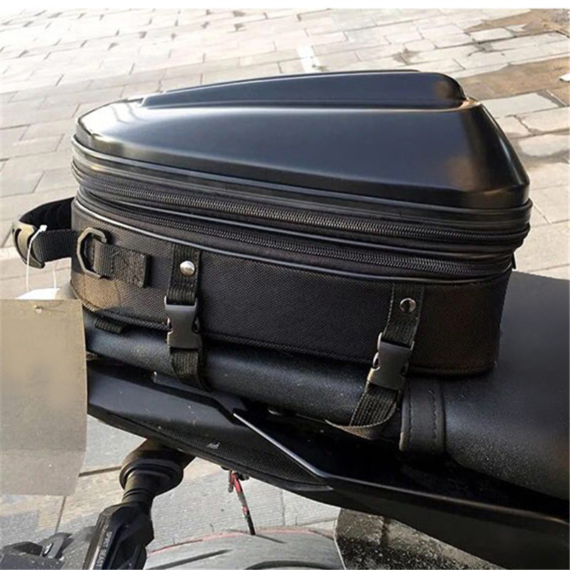 e279f5ff8c9d 2018 New Waterproof Motorcycle Tail Bags Back Seat Bags Kit Travel Bag  Motorbike Scooter Sport Luggage Rear Seat Rider Backpack