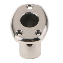 Boat Hand Rail Fitting 30 Degree U-shaped Base 316 Stainless Boat Hatch Hinge Boat/Yacht Accessories For 7/8 tube water paddle boat hand boat for child under 7 years old