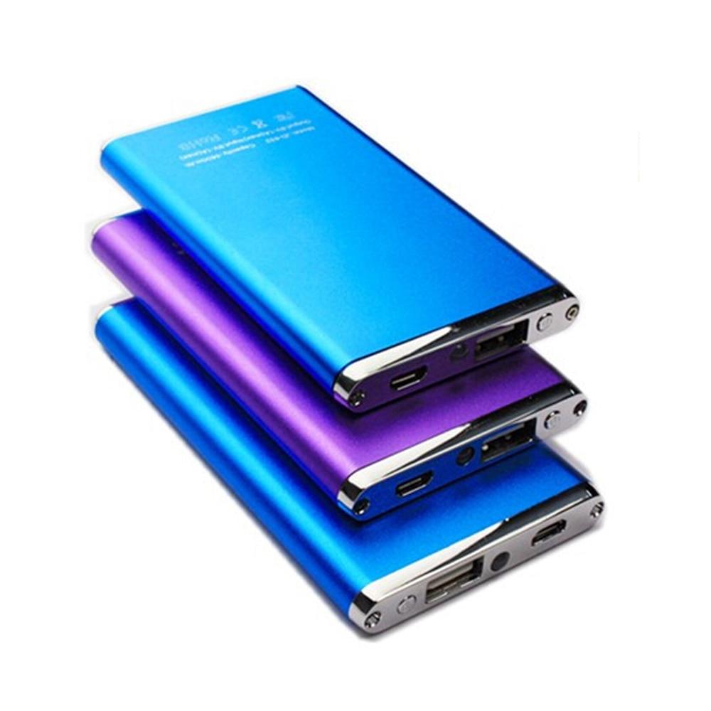 5600mah Super Slim Metal Power Bank External Battery Pack