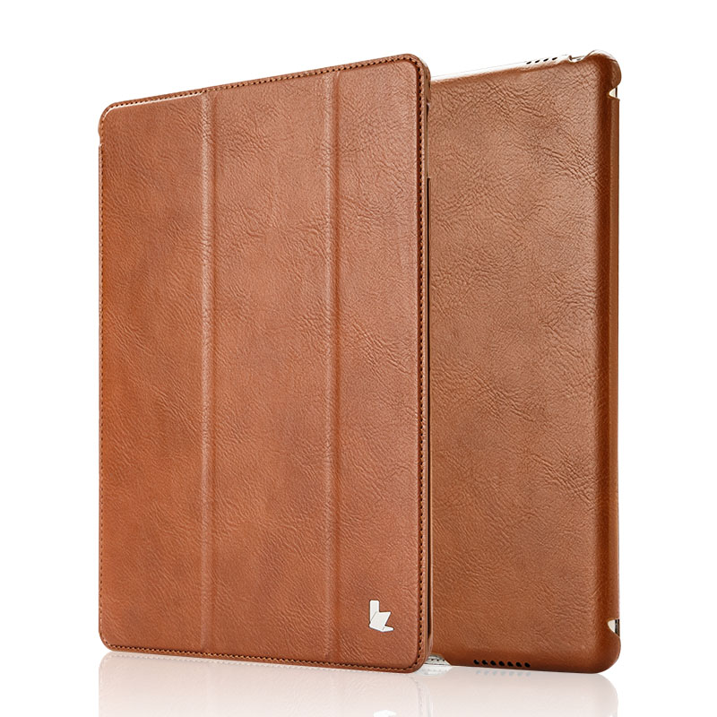 все цены на Jisoncase for iPad Pro 9.7 Case PU Leather Luxury Brand Funda for iPad Pro 9.7 Smart Cover Magnetic Stand Tablet Covers & Cases онлайн