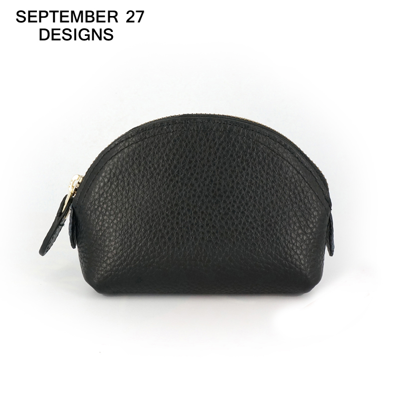 女性の財布ブランド本革シェルデザイン小銭入れ収納袋ジッパーポケットキーポーチマネーバッグ変更財布
