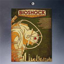 Bioshock Postersby Sontyou Steampunk Art Print Wall Poster On Canvas Canvas Printings Impressionist 16X24 -64755-YP