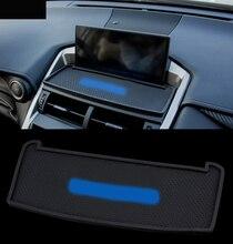 Per Lexus modificato NX200 NX300 interni modificato speciale anti-slip pad di navigazione del telefono del gel di silice pad Accessori Auto