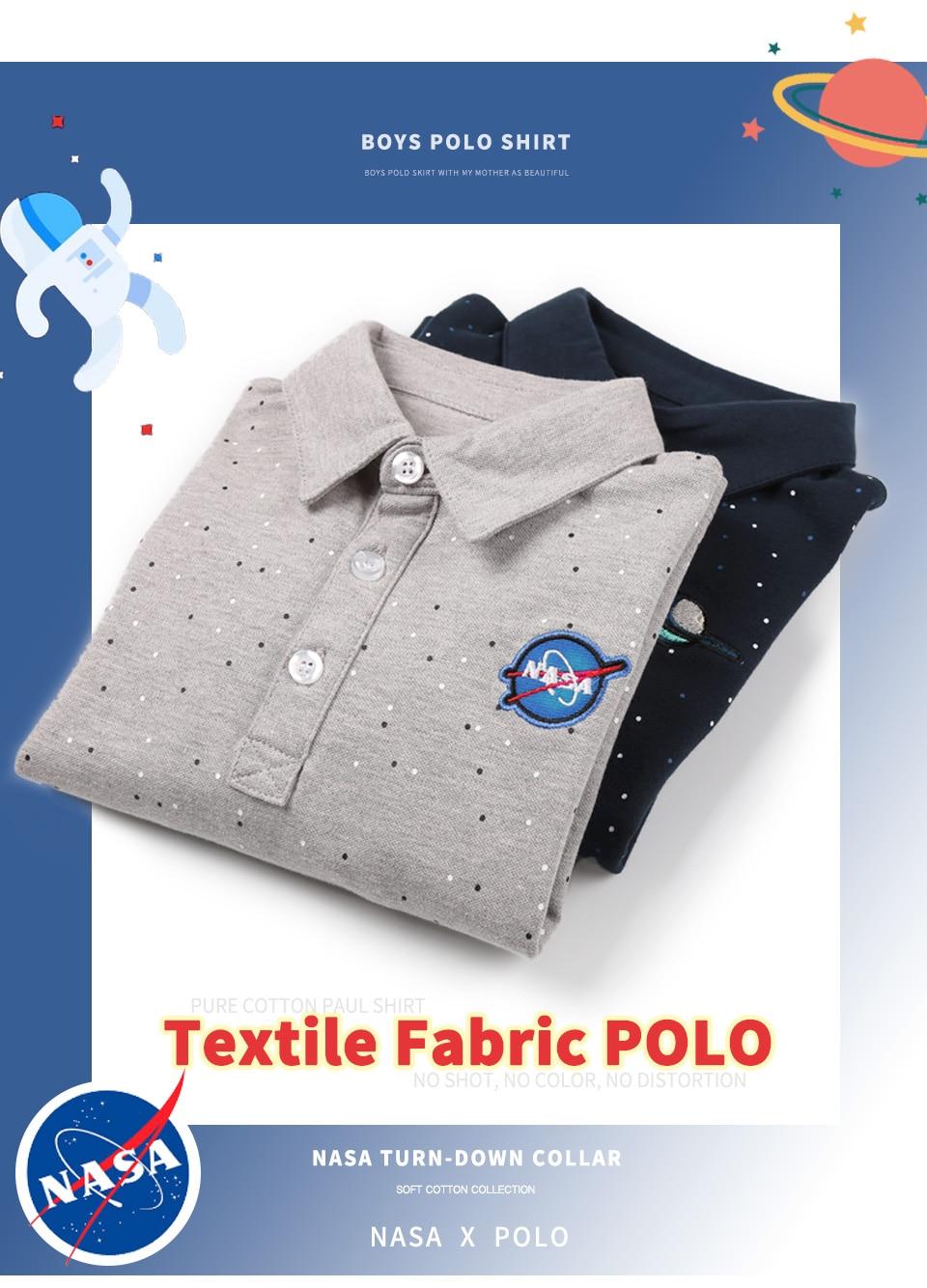 Free Shipping Kids Boys Polo Shirt Long Sleeve Cotton Thin Turn Down
