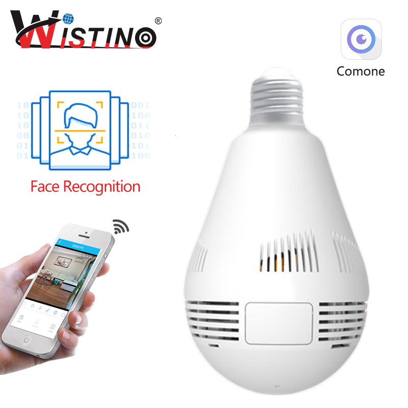 960P Wireless VR Panoramic IP Camera Face Recognition Bulb Light Wifi FishEye 360 degree CCTV Surveillance Home Security Monitor halloween half face skull skeleton mask cap neck ghost scarf outdoor motorcycle bicycle headwear hat scarf