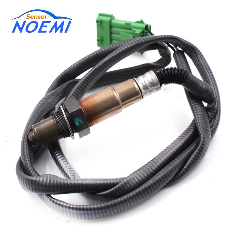 Oxygen O2 Lambda Sensor For Peugeot 206 306 307 406 407 607 806 Partner 0258006026 0258986615 1628EC 1628HQ 9635978980 96229976