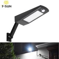 T SUNRISE Solar Light Motion Sensor LED Street Light 48 LEDs Outdoor Solar Powered Lighting Waterproof For Street Road