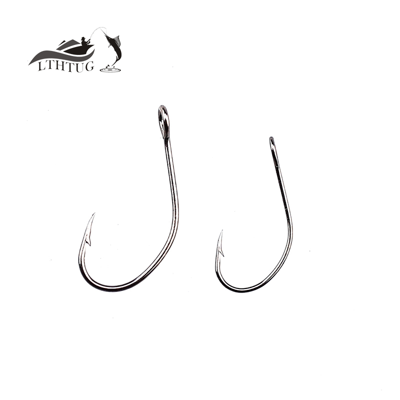 Wholesale 50 pcs pack fishing tackle big horses mouth for Wholesale fishing hooks