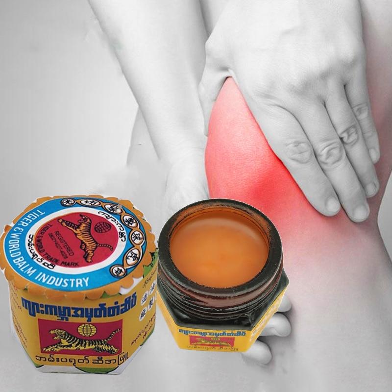 Тигр бальзам мышечные боли Мьянма мазь судороги растяжение связок синяки укусов Комаров боли в суставах массаж тела охлаждения масла