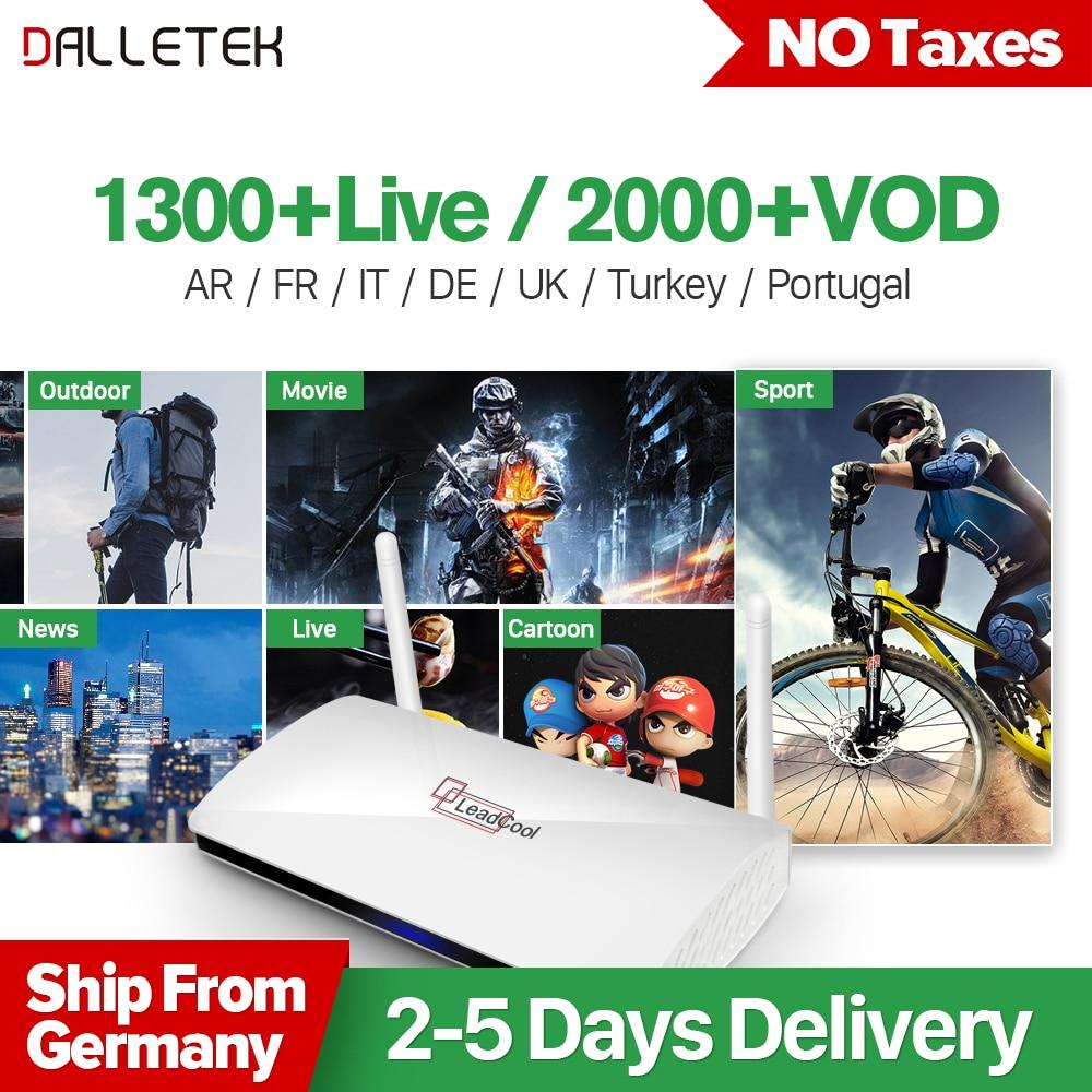 Iptv Europe Arabic Box French Abonnement 1 Year Qhdtv Wiring Diagram Subscription Dalletektv Leadcool Smart Android 60 Ip Tv Set Top