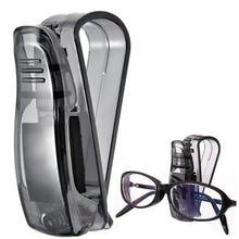 Автомобильный солнцезащитный козырек очки солнцезащитные очки для билетов квитанция карта держатель для хранения