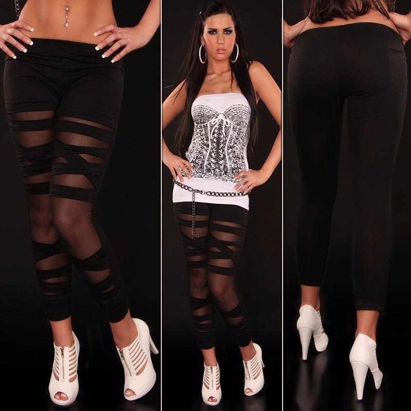Black-Stretch-Lame-Leggings-LC7825-2-3