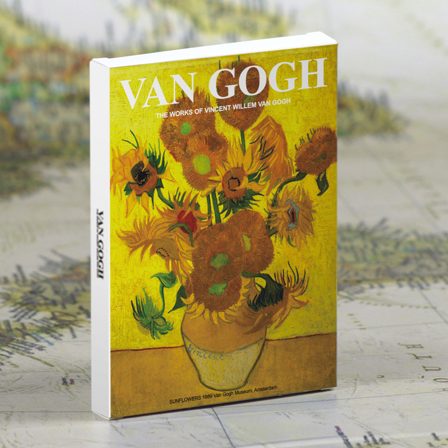 30 Sheets/ LotT Van Gogh Oil Painting Postcards Vintage Greeting Wish Card Fashion Gift Merry Christmas Card