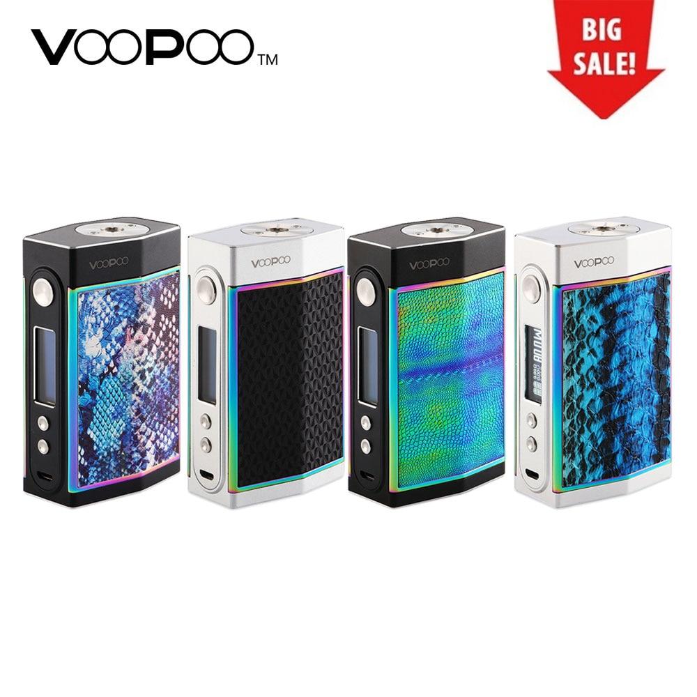 Neue Original 180 watt VOOPOO ZU Box MOD mit Doppel Sidesilp Abdeckungen & Neueste GEN. FAN Chip Keine 18650 Batterie Vs VOOPOO Drag Box Mod