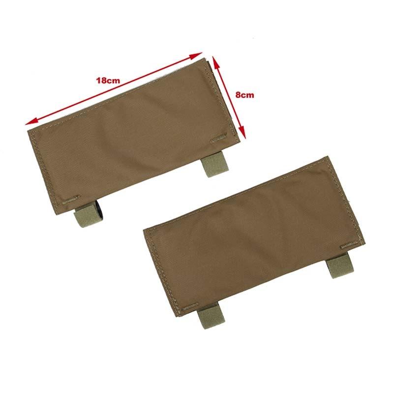 1 Pair TMC2921 Tactical Vest Shoulder Strap Pad LT PC Shoulder Pads Cushion Liner Protect Pad