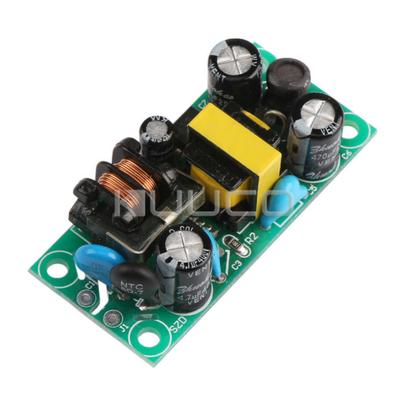 5 PCS/LOT 5W Switching Power Supply AC90~240V 110/220V to DC 12V 400mA Buck Converter/Power Supply Module/Driver Module/Adapter 5 pcs lot dc 12v adapter driver module ac 90v 240 110v 220v to dc 12v 3 5a switching power supply 36w ac to dc power converter