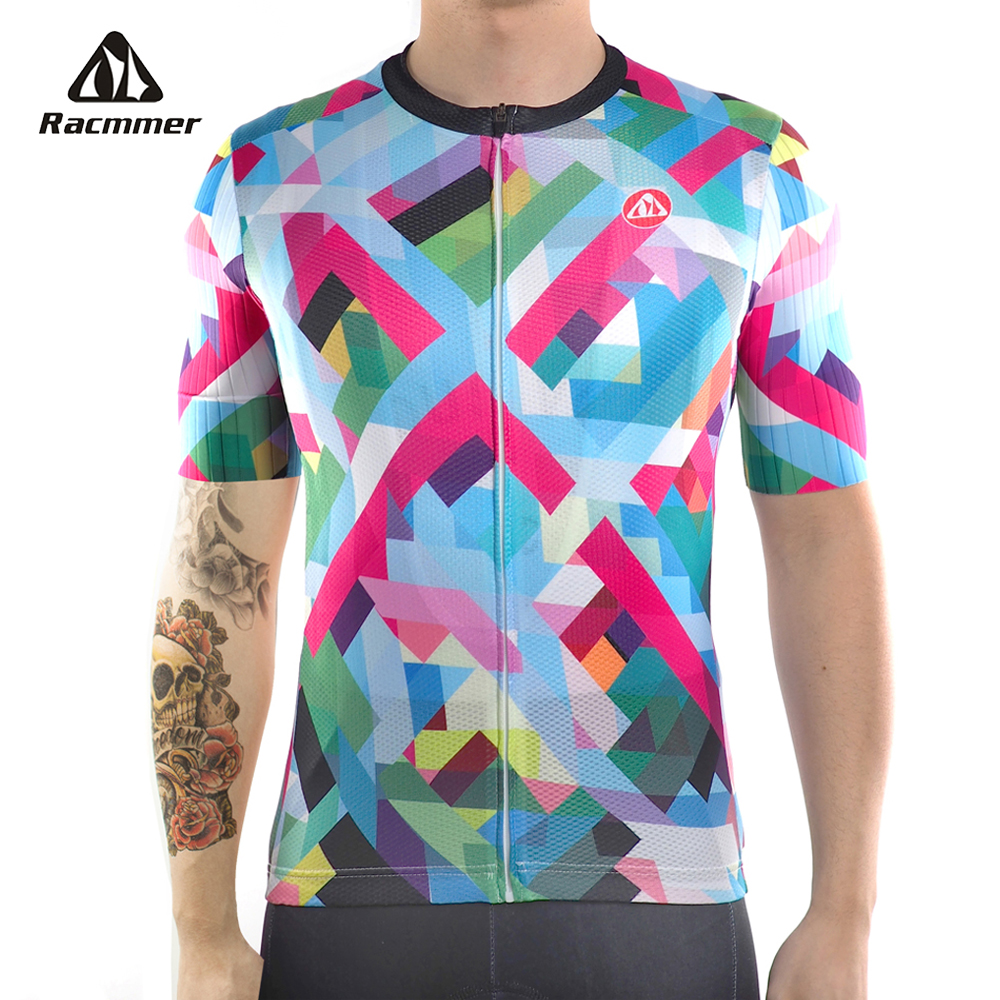 Racmmer 2018 PRO FIT Cycling Jersey Mtb Bicycle Clothing Bike Wear Clothes Short Maillot Roupa Ropa De Ciclismo Hombre Verano racmmer 2018 pro team cycling jersey fit mtb bicycle clothing bike wear clothes short maillot bicicleta roupa ropa de ciclismo