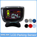 Hot Sale 4 Sensors 22mm Buzzer LCD Parking Sensor Kit Display Monitor Car Reverse Backup Radar Parking Assistance System 12V