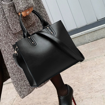 Fashion Leather Bag Large Women Leather Handbags Famous Brand Women Messenger Bags Big Ladies Casual Clutch