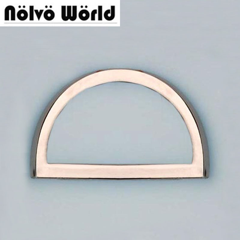 38 20mm 1 1 2 inch silver thin alloy Dee Ring adjustable buckles for bag webbing