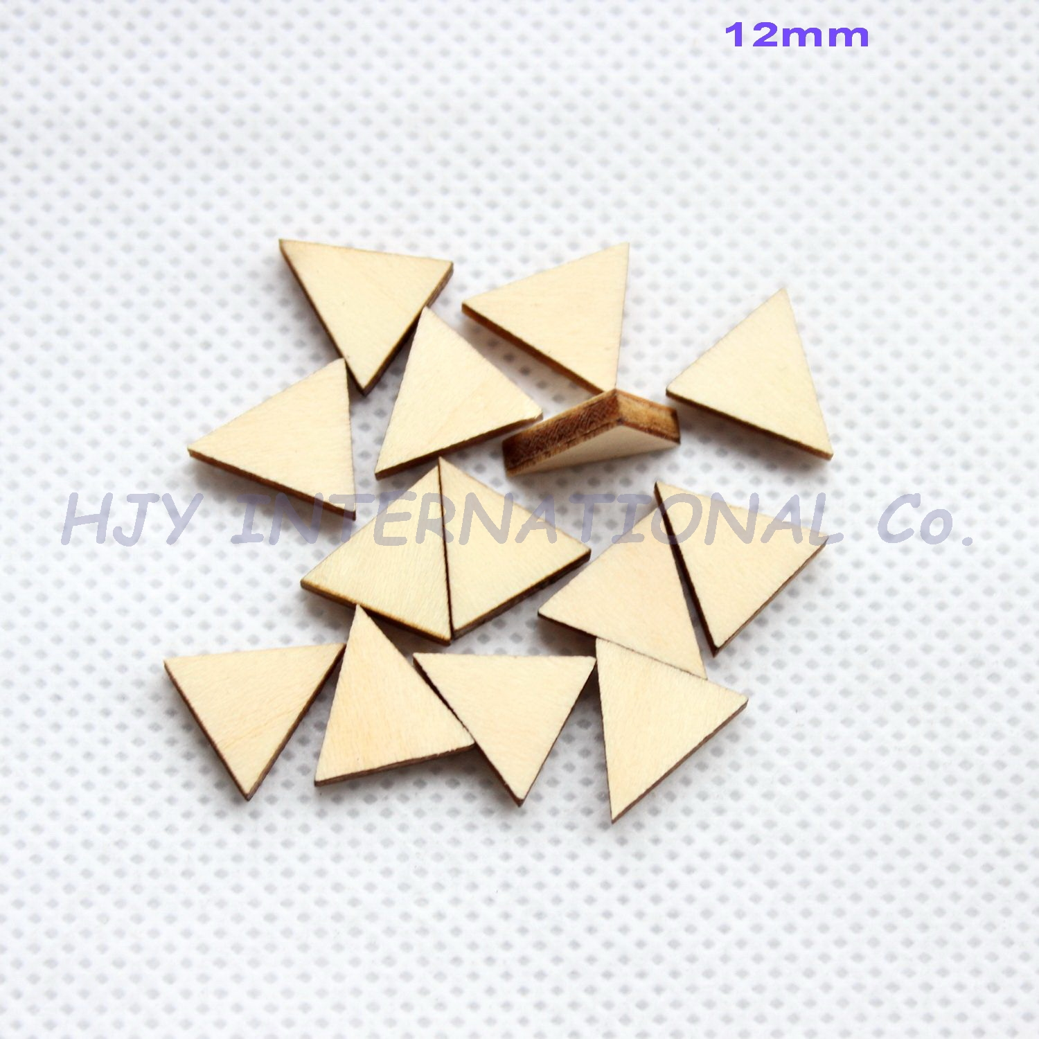 (100pcs/lot)12mm Blank Wood  Earring Accessories Unfinished Rustic Beads 0.5