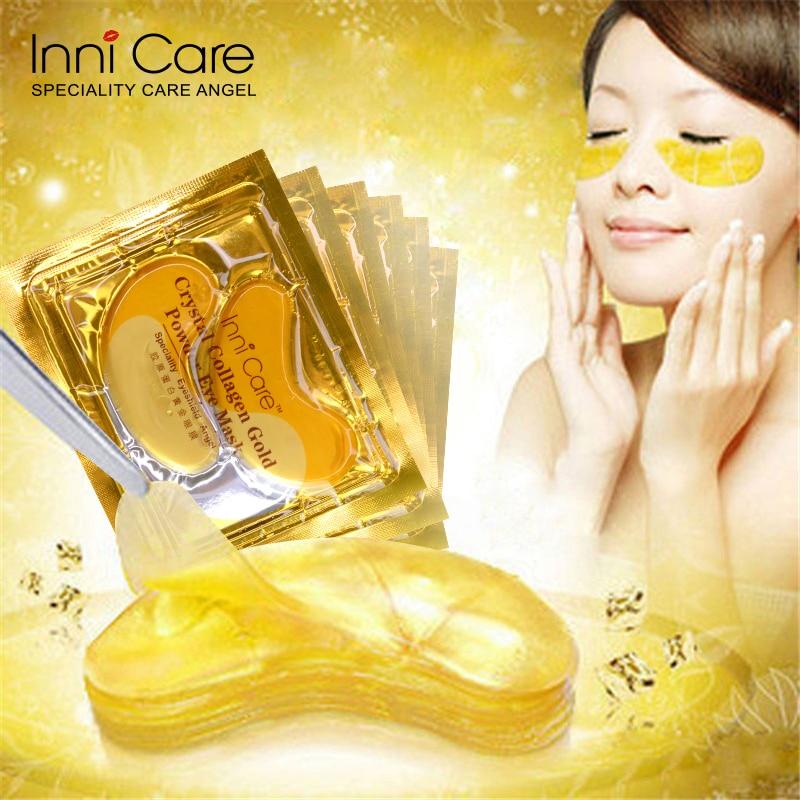 40pcs polvo de colágeno de cristal natural oro máscara de ojos - Cuidado de la piel - foto 2