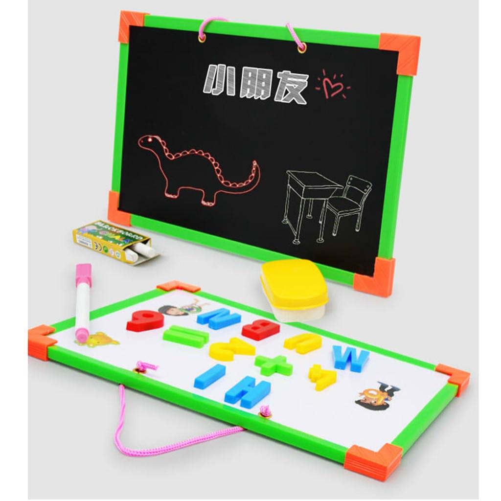 Chalk boards Whiteboard Blackboard Magnet Children Pretend Play Teachers Writing