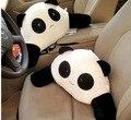 Free shipping panda cartoon waist pillow Back Support Cushion plush lumbar pillow for car seat office chair sofa car styling
