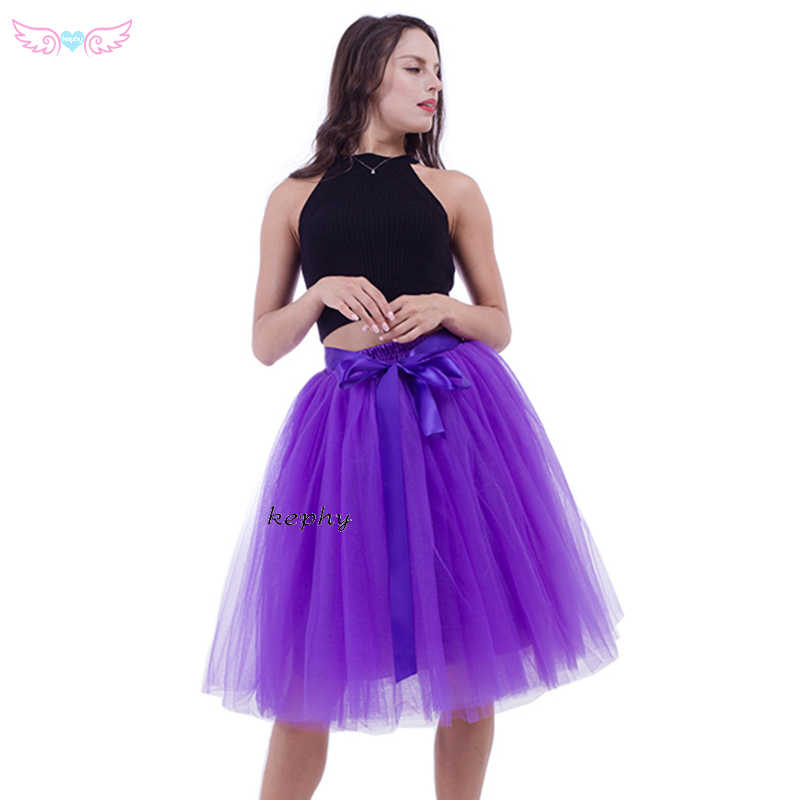 e8e011b2c ... 5 layers 65long wine color skirt knee length dance tutus girls puffy skirts  birthday clothing women ...