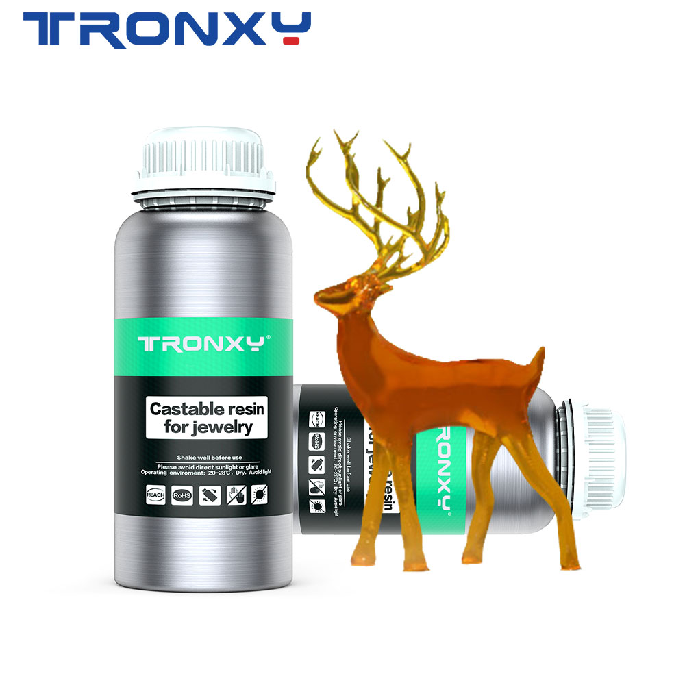 Résine UV TRONXY 405nm pour imprimante 3D Ultrabot matériau d'impression LCD sensible aux UV Normal 500 ml/1000 ml Gadget de bouteille liquide
