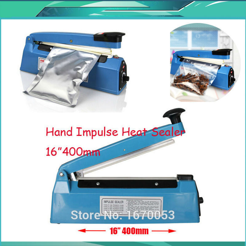 Impulse Sealer Sealing Heat Machine Plastic Bag Closer 400mm 16inch In Tool Parts From Tools On Aliexpress Alibaba Group