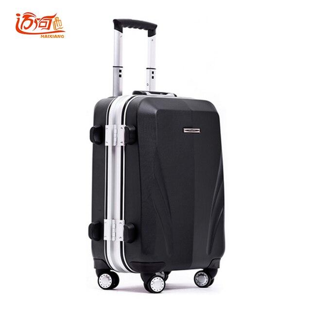 Aluminum frame+PC suitcase for girls 20\