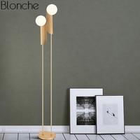 Postmodern Led Standing Floor Lamp Nordic Design Stand Light for Living Room Bedroom Bedside Lamp Glass Ball Home Decor Fixtures