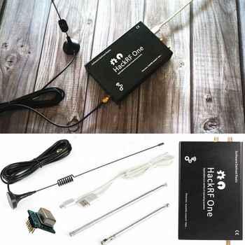 2019 HackRF una plataforma usb SDR Software definido Radio 1MHz a 6GHz tablero de demostración + TCXO + caja de Metal + Antena