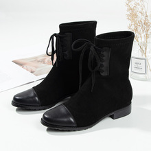 New Martins in Autumn and Winter Ankle  winter boots women Rubber shoes