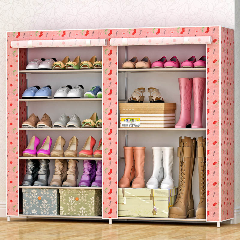 Non-woven fabrics large shoe rack organizer removable shoe storage for home furniture shoe cabinet non woven fabrics large shoe rack organizer removable shoe storage for home furniture shoe cabinet