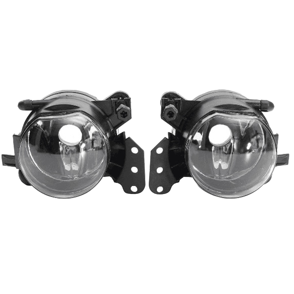 2pcs Car <font><b>Front</b></font> Fog <font><b>Lights</b></font> Housing Lens Clear No Bulbs Car <font><b>Light</b></font> Assembly For <font><b>BMW</b></font> E60 <font><b>E90</b></font> E63 E46 323i 325i 525i image