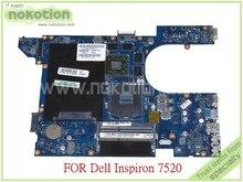 NOKOTION font b laptop b font motherboard For Dell Inspiron 15R 7520 DDR3 QCL00 LA 8241P