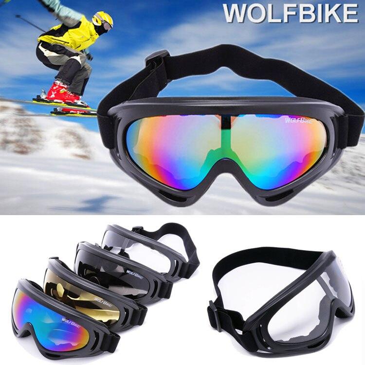 100% UVA Tactical Airsoft Paintball Gafas de Esquí Gafas de Protección Al Aire L