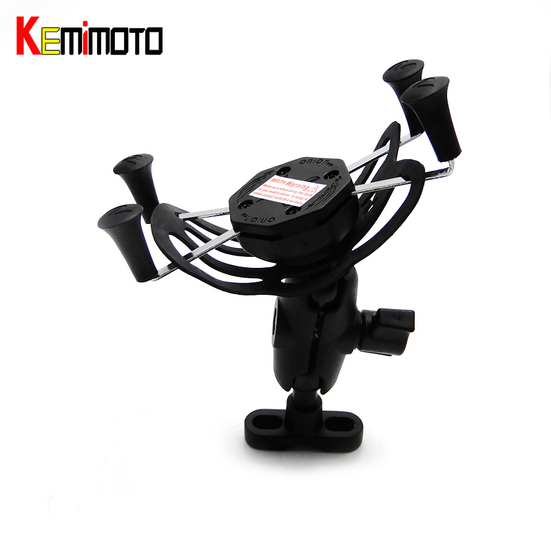 KEMiMOTO For BMW R1200GS X-Grip GPS Mobile Phone Navigation Bracket For BMW R1200GS R1200R R1200ADV 2016 after market adaptive navigation and motion planning for autonomous mobile robots