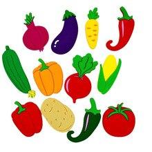 10 шт. Овощной набор магнитов на холодильник милые магниты для магниты детские на холодильник украшения дома аксессуары