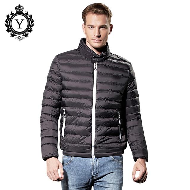 d756d75cdc4 US $72.89 |COUTUDI Solid Black Winter Jacket Men Thin Down Parka Jacket  Male Down Coats Windbreaker Quality Clothing Men Jacket Parkas Coat-in Down  ...