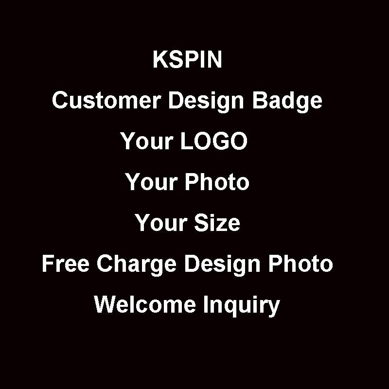 Customer Own Logo Badge for U