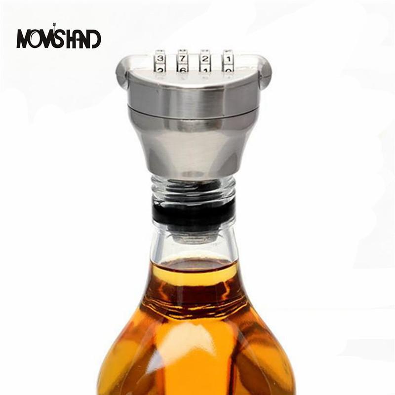 rojo botella de vino dispositivo de conservacin del vino tapn de corcho cerraduras contrasea combinacin digital