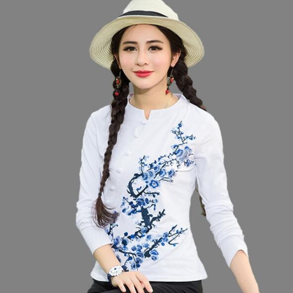 e55700aa541 best chinese traditional embroidery t shirts casual top ideas and ...
