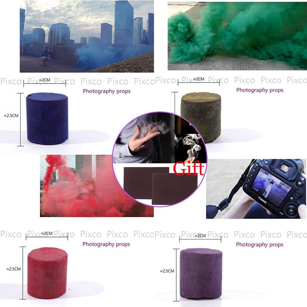 Дым таблетки торт белый дым эффект fire drill Опора свадебные фазы фон 4 цвет + подарок-реквизит для фокусов
