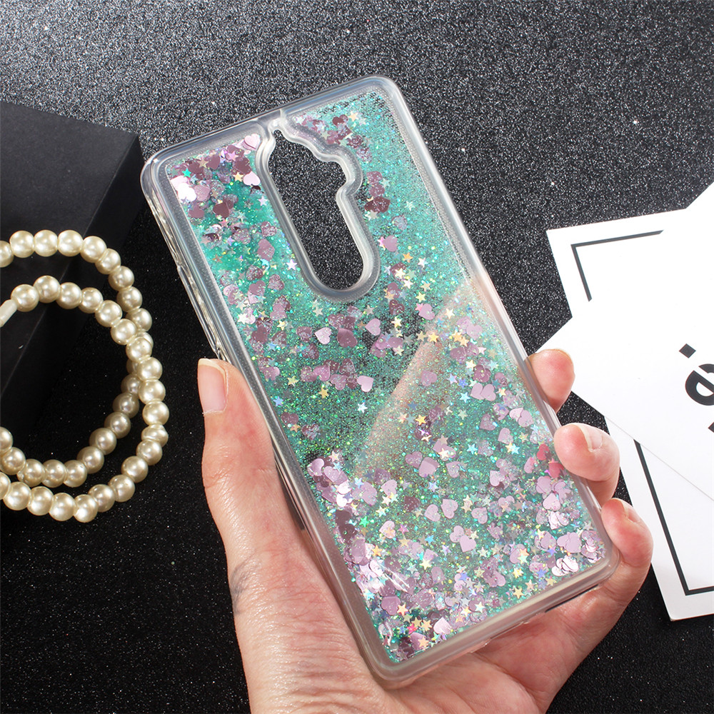 For Lenovo K8 K8 Plus case Fashion Dynamic Liquid Glitter Paillette Sand  Quicksand soft TPU Back Cover For Lenovo K8 Phone Case-in Fitted Cases from  ... b39a1ecf8216