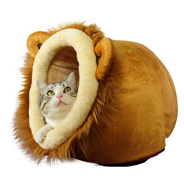 Automn Winter Hand Wassen Zachte Warme Ademend Leeuw Luipaard Herten  Kleur Kleine Medium Kat Honden