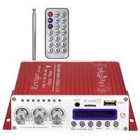 Kentiger V10 Bluetooth Hi-Fi Clase AB Amplificador de Energía Audio Estéreo Bajo Estupendo oudspeaker Volumen Control Inalámbrico Amplificador de Potencia