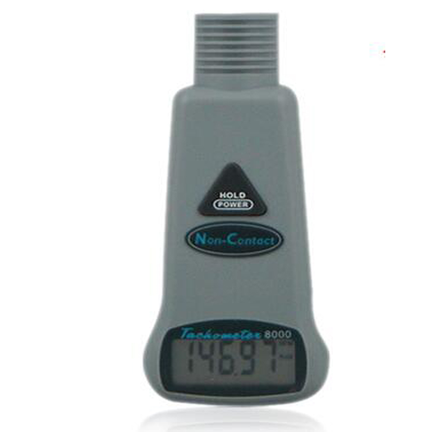 ФОТО AZ8000 digital tachometer handheld non contact motor speed speedometer tester